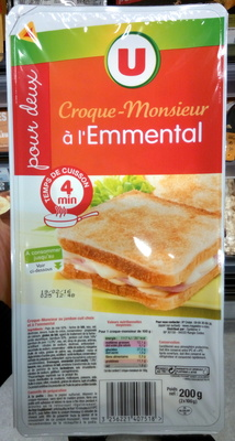 Croque-Monsieur à l'Emmental - Product - fr