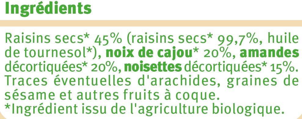 Mélange de fruits et de graine - Ingrédients - fr