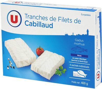 Tranches de filet de cabillaud nature - Product - fr