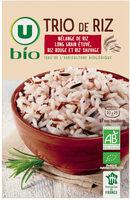 Trio de riz - Produit