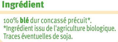 Boulgour - Ingrediënten