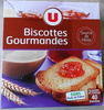 Biscottes gourmandes - Product