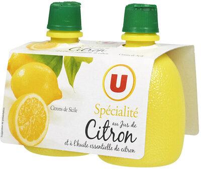 Jus de citron jaune - Produit - fr