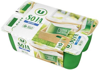 Spécialité fermentée au soja nature - Produit - fr