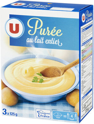 Purée au lait entier - Product - fr