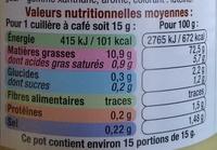 Mayonnaise à la moutarde à l'ancienne - Informations nutritionnelles - fr