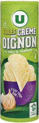 Tuiles goût crème et oignon - Product