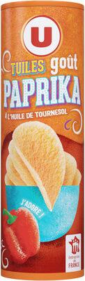 Tuiles goût paprika - Produit - fr