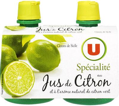 Jus de citron vert - Product - fr