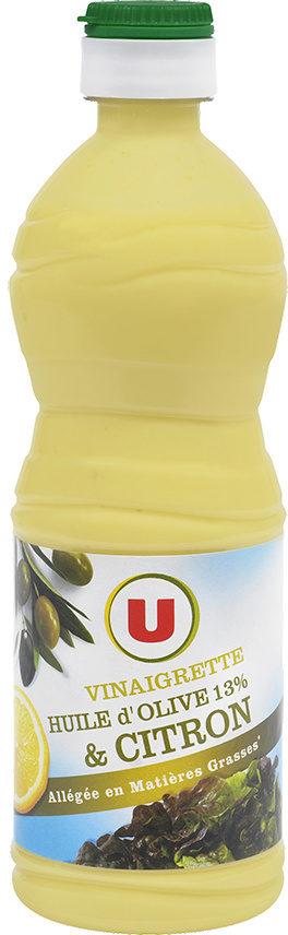 Vinaigrette allégée en matières grasses à l'huile d'olive 13% et au citron - Product