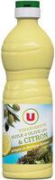 Vinaigrette allégée en matières grasses à l'huile d'olive 13% et au citron - Produit - fr