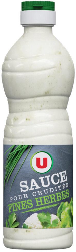 Sauce crudités aux fines herbes - Product