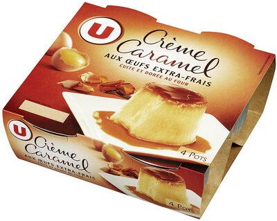 Crème caramel - Produit