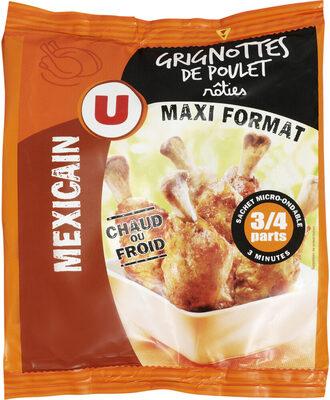 Grignotte de poulet rôtie goût mexicain - Produit
