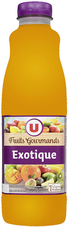 """Jus exotique source 10 vitamines """"fruits gourmands"""" - Product - fr"""