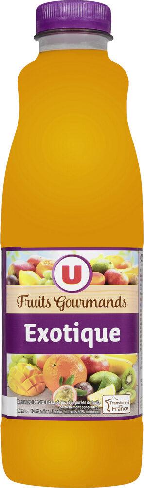 Jus exotique source 10 vitamines fruits gourmands - Produit - fr