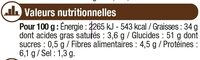 Chips ondulées easy - Nutrition facts - fr