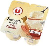 Semoule au lait à la vanille - Product - fr