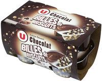 Crème dessert au chocolat et billes au chocolat - Producto