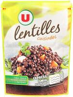 Lentilles cuisinées - Product - fr