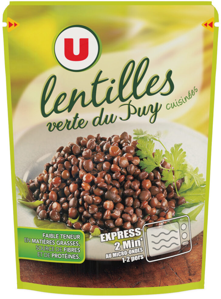 Lentilles cuisinées - Produit - fr