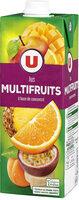 Jus à base de concentré multifruits - Produit - fr