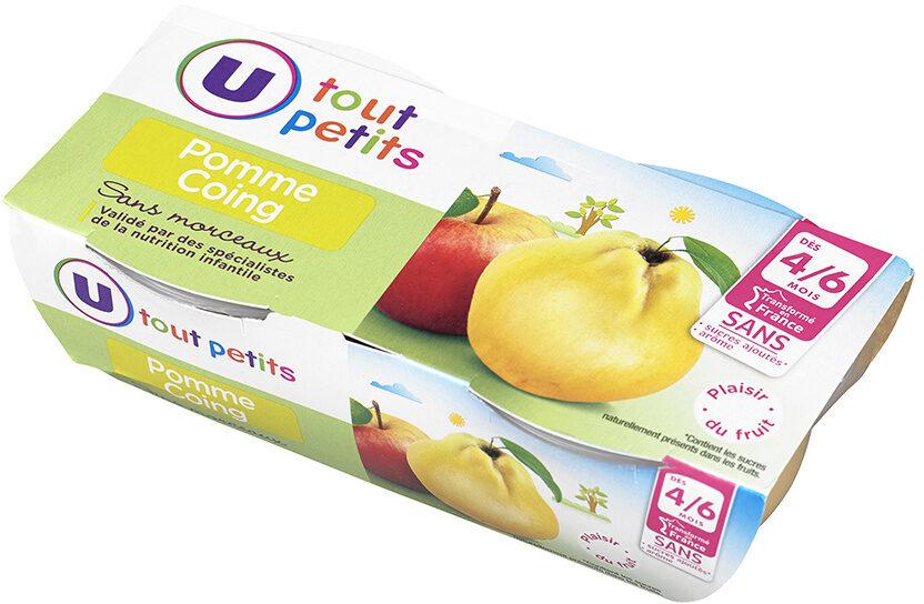 bols à la pomme et au coing - Produit - fr