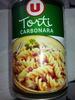 Torti Carbonara - Produit