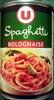 Spaghetti Bolognaise - Produit