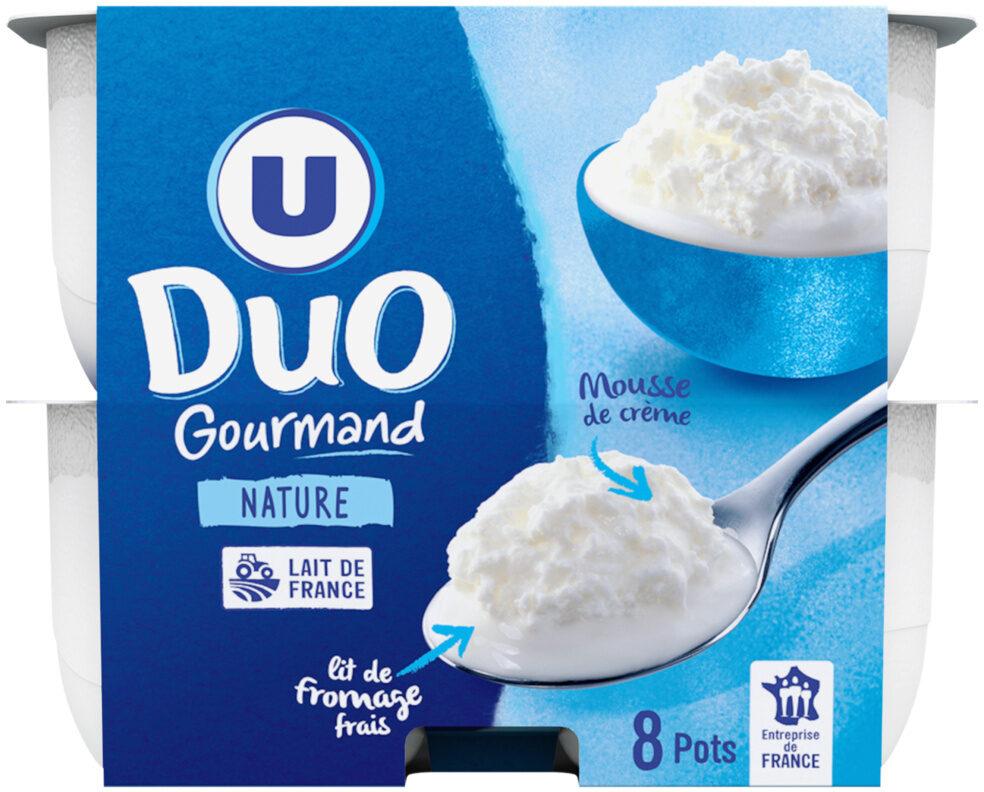 Fromage frais au lait pasteurisé sous crème fouettée 4%MG - Product - fr