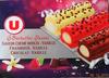 Bûchettes Glacées, saveurs vanille-crème brûlée, framboise, chocolat - Product