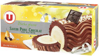 Bûche glacée parfum poire-chocolat facon belle Hélène - Product - fr