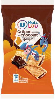 Crêpes fourrées au chocolat U_MAT_ET_LOU - Produit - fr