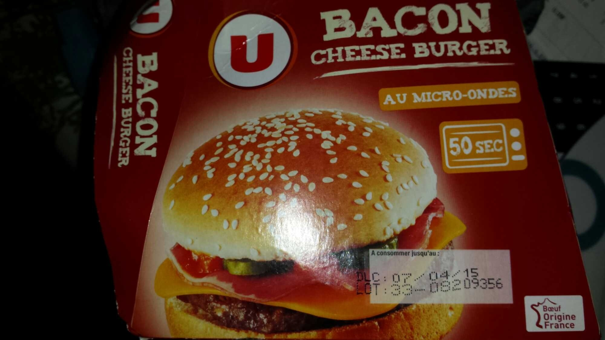 Bacon Cheese Burger - Produit
