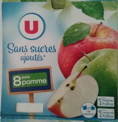 Purée pommes sans sucres ajoutés - Produit