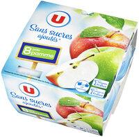 Purée de pommes sans sucres ajoutés - Product
