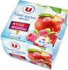 Spécialité de pommes, fraises et pommes, framboises sans sucres ajoutés - Product