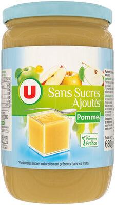 Purée de pomme sans sucres ajoutés - Product - fr
