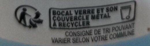 Purée de pomme sans sucres ajoutés - Recycling instructions and/or packaging information - fr