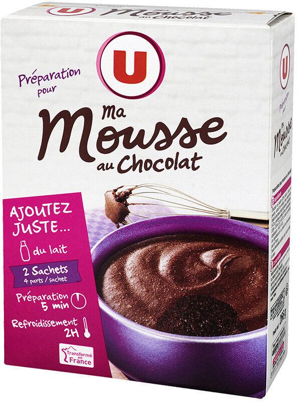 Préparation pour mousse au chocolat - Produit