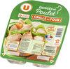 Emincés de poulet traité en salaison cuite et grillé - Produit