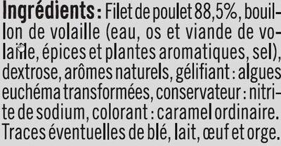Blanc de Poulet - Ingrédients - fr