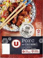Porc au caramel et riz - Produit - fr