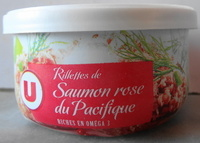 Rillettes de Saumon rose du Pacifique - Product