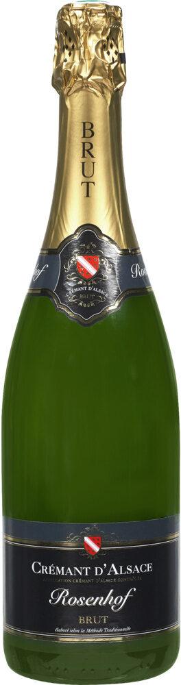 Crémant d'Alsace AOP brut Rosenhof - Produit - fr
