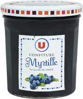 Confiture de myrtilles - Prodotto - fr