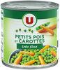Petits pois très fins et carottes à l'étuvée - Produit