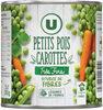 Petits pois très fins et carottes à l'étuvée - Product