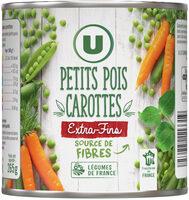 Petits pois extra fins et carottes à l'étuvée - Produit - fr