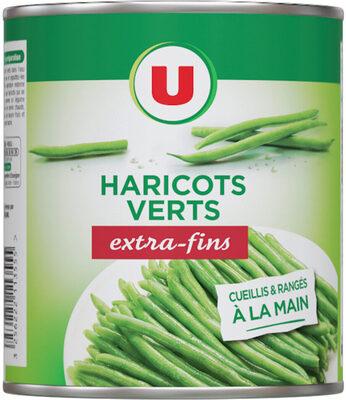 Haricots verts extra-fins cueillis et rangés à la main - Product - fr